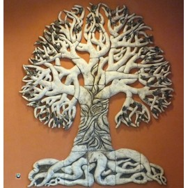 Strom reliéf skládaný