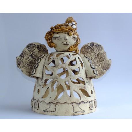 Lampička andělka slunce